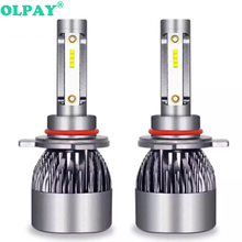 2019 New 2PCS H7 LED 6000LM/PAIR  Car Headlight Bulbs H4 H1 H8 H9 H11 Headlamps Kit 9005 HB3 9006 HB4 Auto Lamps