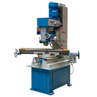 ZX50C Vertical Milling Machine High quality Small Gear Drive Drilling And Milling Machine 220V/380V 40~1400r.p.m (900 x 240mm)