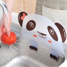 Кухонная раковина брызговик воды мультфильм присоска блюдо мытье перегородки доска бытовой инструмент