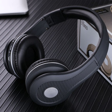 цены Fashion Metallic Color Wireless Headphones Support FM TF Card Bluetooth 5.0 Stereo Headsets MP3 Hifi Earbuds with Mic for phones