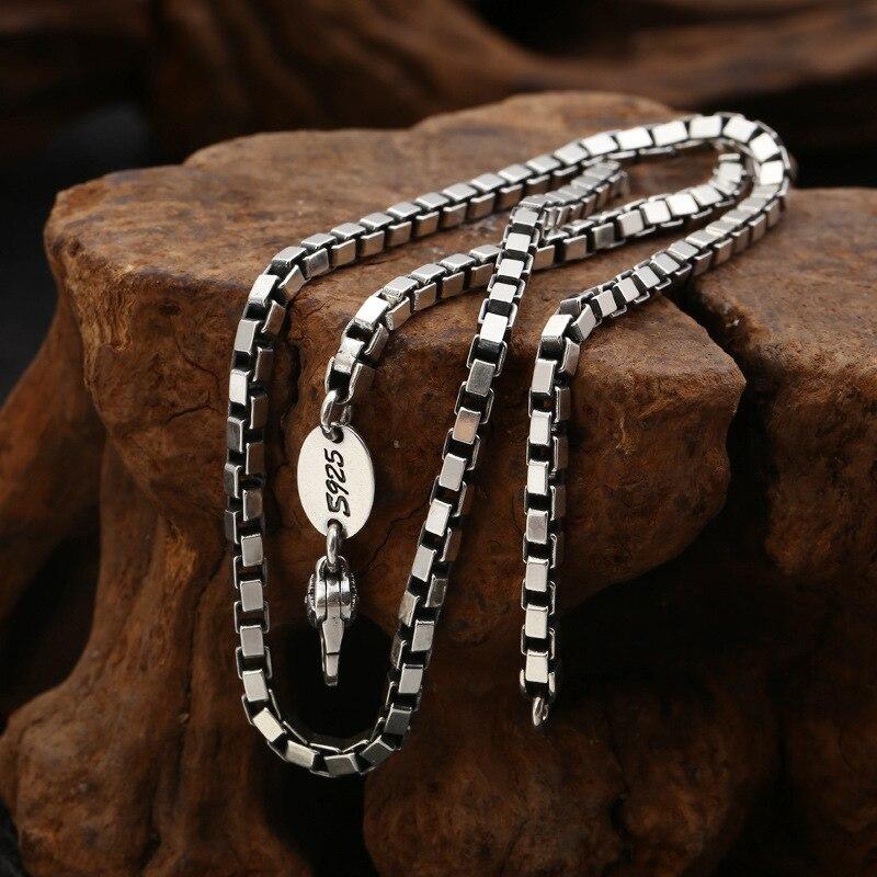 Mens necklace Men Jewelry Statement Necklaces /& Pendants Kolye Vintage Leather Necklace Men Collier Femme Men Necklace Women Long Necklace