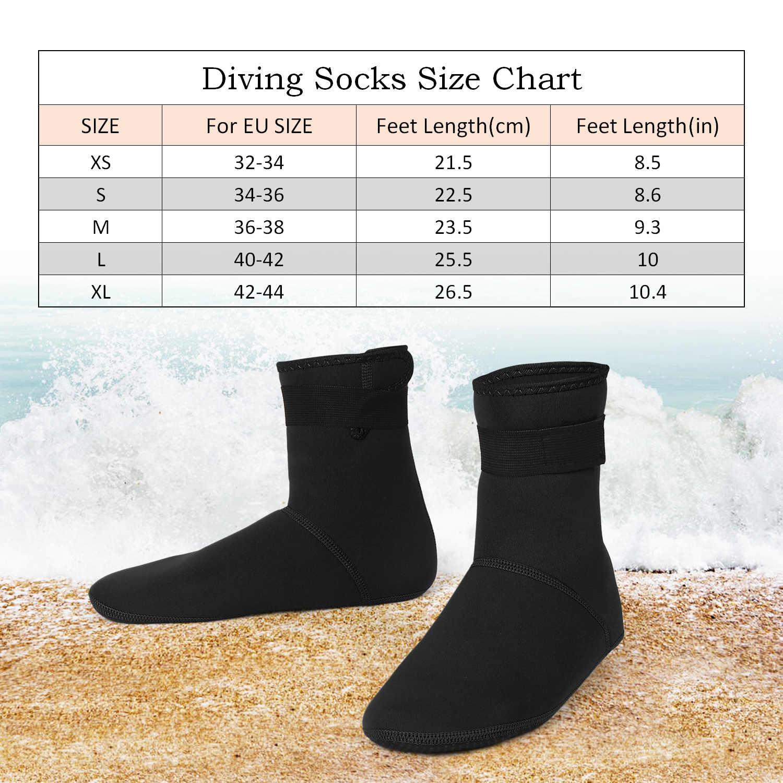 XS/S/M/L/XL Duiken Sokken Handschoenen Set Neopreen Zwemmen Sokken Badmode Warm Snorkelen Sokken handschoenen Voor Strand Zwemmen Duiken