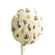 Моющиеся хлопчатобумажные льняные водонепроницаемые аксессуары Тип пола пыленепроницаемый прочный для домашнего использования Электрический вентилятор крышка печатная круглая защита