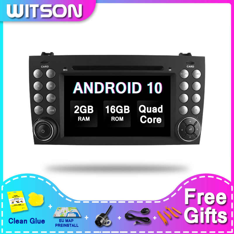DE Stock! WITSON Android 10.0 Auto Video Per MERCEDES-BENZ SLK200/SLK280/SLK350/SLK55/R171/W171 PX5 Octa-Core 4 + 64GB