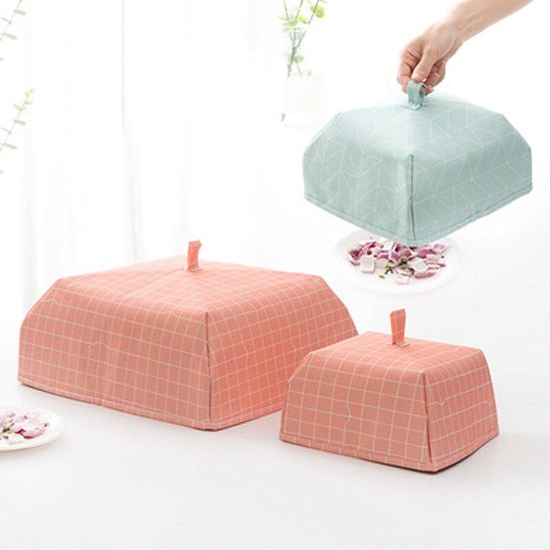 Couvercle de couvercle pliant BalleenShiny garder les aliments au chaud couvercle de légumes récipient en papier d'aluminium plats Gadgets de cuisine à isolation thermique