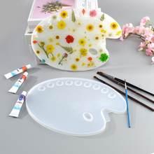 Molde de resina epoxi UV para manualidades, tablero de pintura de dibujo, molde de fundición de resina, herramientas de Molde de resina