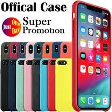 Luxury Original Silicone Case For iPhone 7 8 Plus For Apple Case