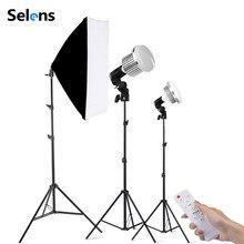 Foto Studio Licht für Fotografie Beleuchtung Kit 3200-5500K mit Stativ Light Stand Softbox Video Lampe für YouTube tik Tok