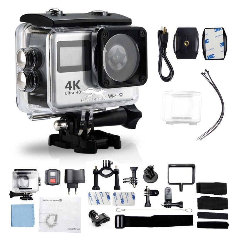 "Cheap Chance for  4K WiFi Action Camera 2.0"" Touch Screen 12MP 1080P Video Camera Waterproof Sports DV Bike Helmet Ca"