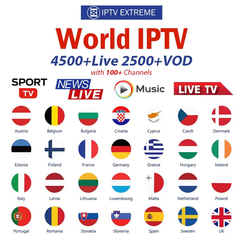 8000 Live Europe IPTV…