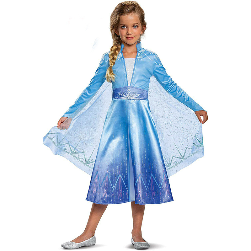 Fancy Dress For Girls Dress Costumes For Kids Halloween Party Princess Girl Dress Role-play Outfits For Children 6