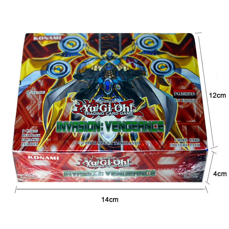 Japan Anime Yu Gi Oh Deck English Card 24 216 Fight Board Game Yugioh Duel Cards Table Toys Collections Children Christmas Gifts
