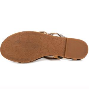 Image 5 - Pzilae rhinestone women slippers flip flops summer crystal bling slides women shoes leopard print casual slip on beach slippers