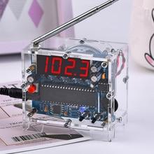 100% Brand New and High Quality Radio diy kit FM digital radio Electronic diy soldering kit