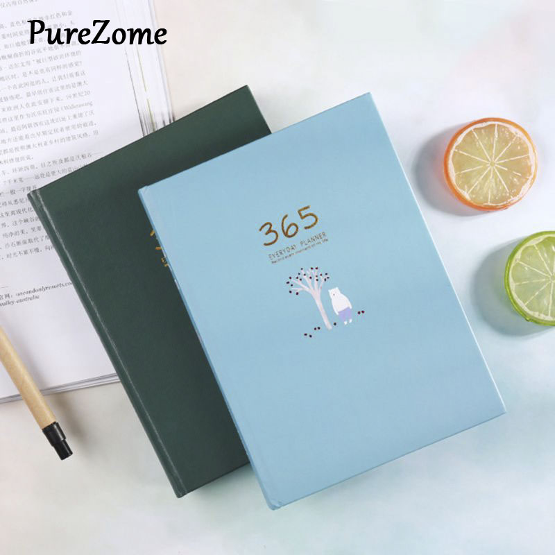 Best Buy Cute Stationery Notebook 365 Planner Weekly Monthly