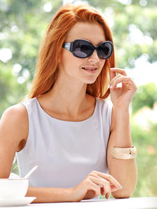 Polarized Sunglasses KALEIDO Female UV400 High-Quality Luxury Women Brand Design Frame