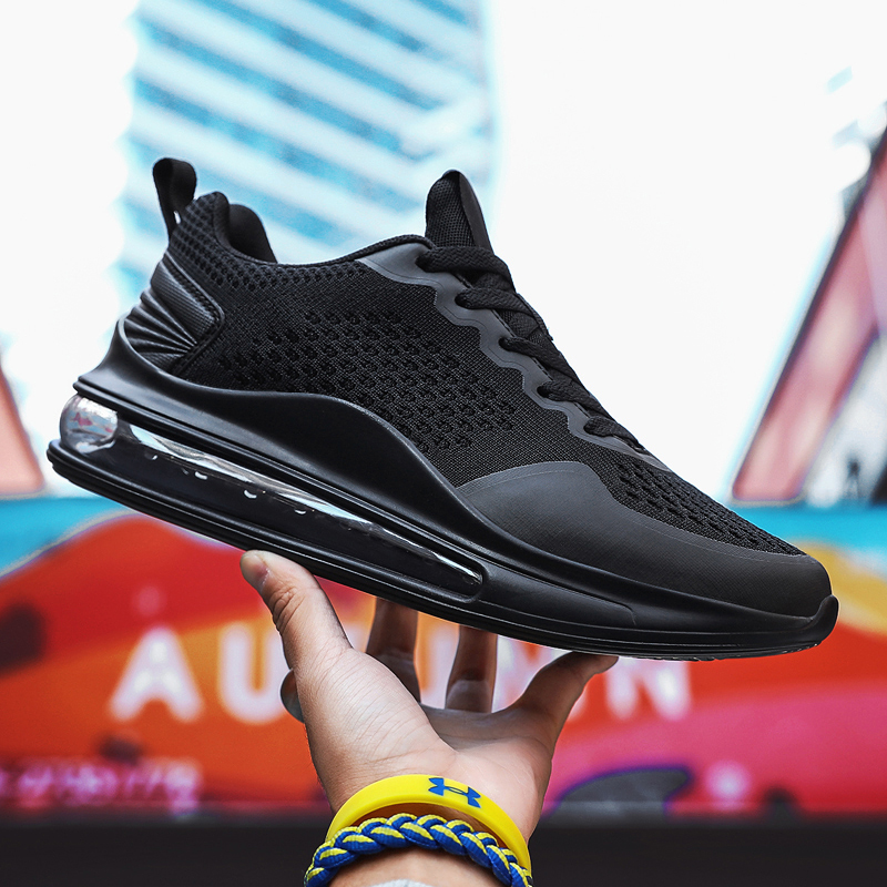 Men's Running Shoes Fashion Sneakers Men Air Cushioning Women Casual Shoes Big Size 46 Outdoor Sport Male Footwear Athletic Shoe
