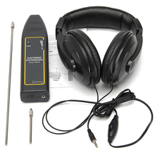 Leak Detector Water Pipe Electronic Stethoscope Earphone Car Detection Equipment 100Hz-10kHz Car Cylinder Stethoscope Accessory