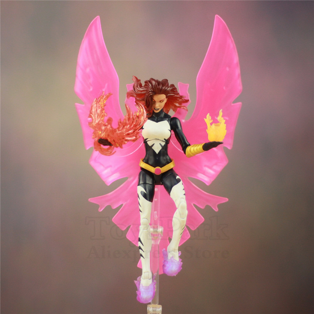 Custom Marvel Legends X Men DARK Phoenix Jean Gray 6