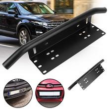 Universele Voorbumper Nummerplaat Log Licht Beugel Off Road Led Light Bar Frame Houder Suv Lamphouder Aluminium
