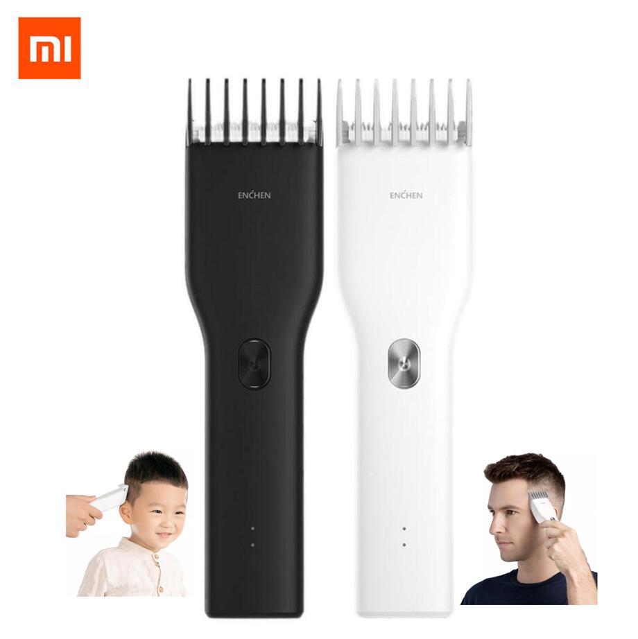 Xiaomi ENCHEN Boost USB Electric Hair Clipper Two Speed Ceramic Cutter Hair Fast Charging Hair Trimmer Children Hair Clipper