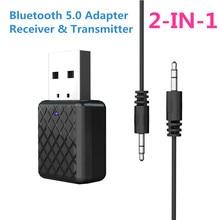 CRDC 5.0 Bluetooth Audio Receiver Transmitter Mini 3.5mm AUX
