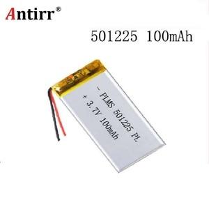 501225 511124 501025 Горячая Распродажа, маленький аккумулятор 501225 3,7 В 100 мАч, lipo аккумулятор для цифровых продуктов