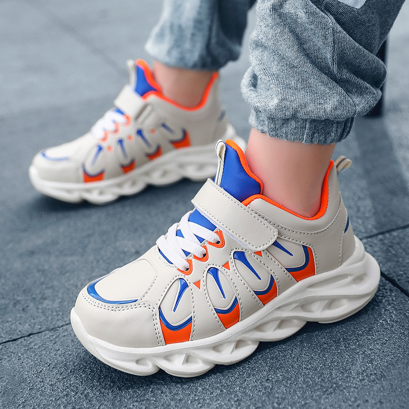 Kids Sneakers Boys Mesh Sneakers Kids Running Sport Shoes For Girls Boys Sneakers Children Breathable Student Casual Air Shoes