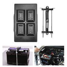 Регулируемый автомобильный поддон для аккумулятора, зажимной кронштейн для Automotic 135-220 мм, автомобильный устойчивый поднос для аккумулятора