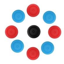 DishyKooker 6 Pcs Silicone Thumbstick Thumb Stick Grip Caps Cover for Nintend Switch Joy-Con Controller ivyueen 5 in 1 for nintend switch ns console handle grip protective cover with 4 thumb stick caps case for joy con controller