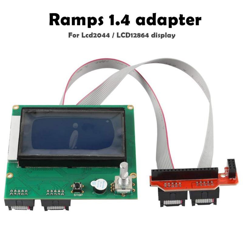 RAMPS 1.4 12864//2004 LCD Display Module Controller 3d Printer Offline Printing