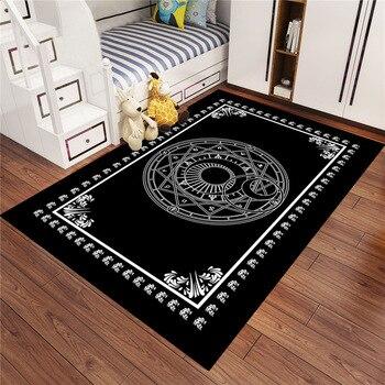 High Quality American Village Carpet Pastoral Retro Nordic Large Delicate For Living Room Bedroom Big Patterns Rug Mat