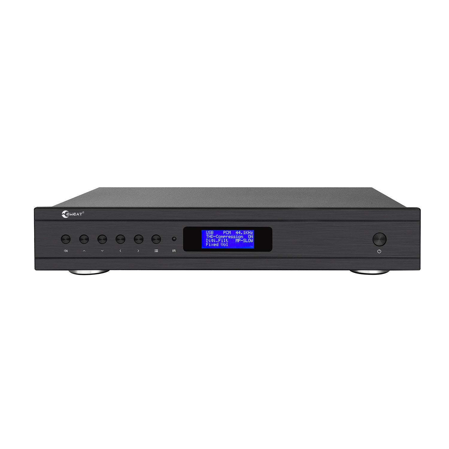 EWEAT D20 ES9038PRO XU208 DSD <font><b>DAC</b></font> UBS AES COXIAL Input Balanced Headphone Amplifier XLR RCA Line Out HIFI Decoder Preamplifier image