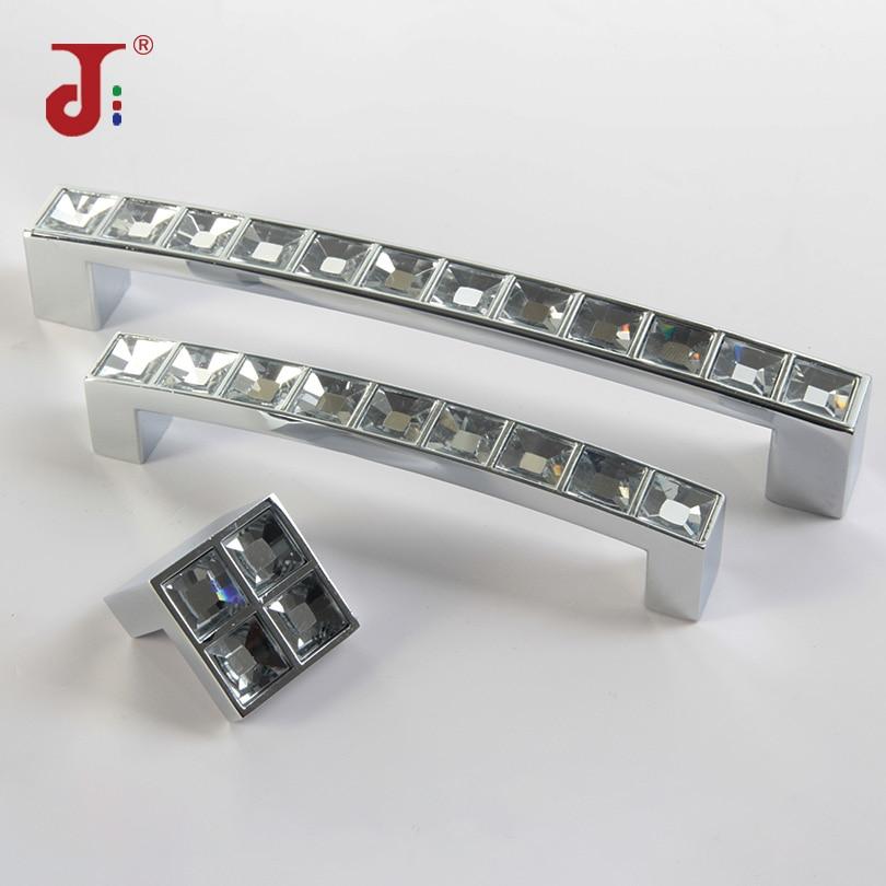 Aluminium Solid Cabinet Door Drawer Cupboard Pull Knob Handle 128mm Silvery