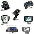 Дисплей для электровелосипеда цветной/черный экран дисплей для электровелосипеда 850C 750C 500C 560C для Bafang BBS01B BBS02B BBSHD Средний двигатель для элек...