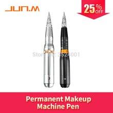New ATT Silver/Black Tattoo Makeup Permanent Machine For Eyebrow Lips Eyeliner with 16 pcs Cartridge