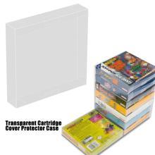 10 Uds. De funda protectora transparente para cartucho, funda protectora para Game Boy en caja