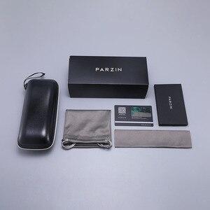 Image 5 - Parzin高級偏光サングラスの女性軽量TR90 フレームコーティングミラーレンズ夏の女性のサングラスブランドのデザイナー