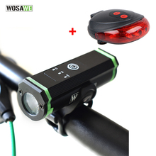 WOSAWE Rechargable Bike Flashlight CREE XML T6 Bike Light with USB Cable 1800 Lumen Waterproof Front Light Bicycle Accessories sitemap 28 xml