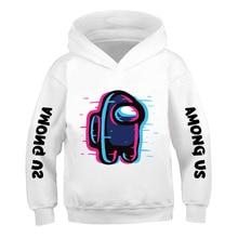 Fashion Hoodie Among Us boy and girl Cartoon printing Graphic Anime Streetwear Sweatshirt Hip Hop Pullover 2020 Autumn and winte