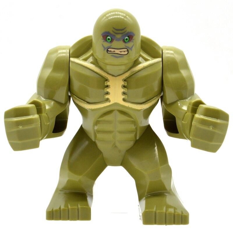 Single Sale Abominations Hulk Super Heroes Big Figures Building Blocks Bricks Marvel MOC Gifts Toys For Children KF901