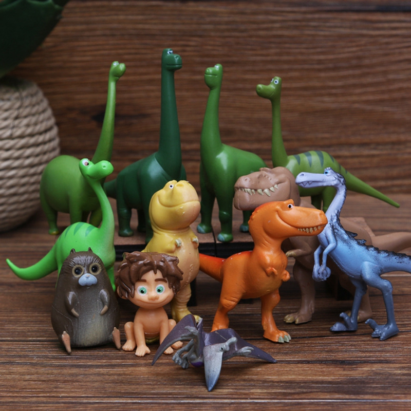 12 Pcs Dinosaur Animal Series Model Doll Toys Action Figure Toys For Children Kids party Gift Boys Educational Toy Dropshipping image