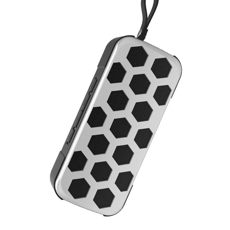 Yulass сабвуфер большой черный Модные Портативный Беспроводной уличные динамики с Bluetooth Поддержка вызова