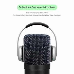 Image 3 - USB Microfono A Condensatore Kit Karaoke Microfono da Studio Mic per il Telefono Trasmissione In Diretta On Line Chat Registrazione