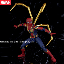 Hasbro Avengers Iron Spider-Man Multiple joints can rotate Movie character simulation Doll Model toys