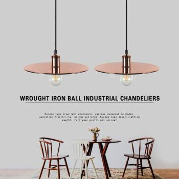 American personality vintage pendant lights Iron art kitchen pendant lights modern Dining Room Lights  LED e27 light bulb