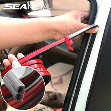 Автомобильные дверные уплотнительные полосы стикер B форма уплотнитель резиновые уплотнения Звукоизоляция Уплотнительная полоса Аксессуары для салона автомобиля