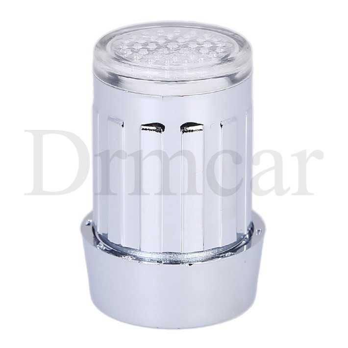 Led 蛇口ストリーミングランプ 7 色可変光のシャワー蛇口圧力センサー浴室温度キッチンアクセサリー