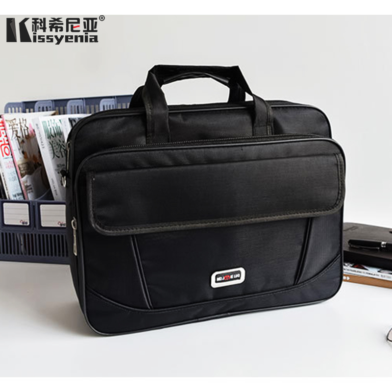 Kissyenia Business Laptop Briefcase Men Bag Travel Suitcase 13 14inch Men's Portfolio Multi-pocket Bolsa Masculina KS1364