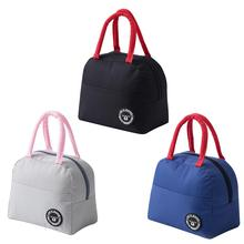Waterproof Picnic Lunch Bag Portable Oxford Canvas Tote Food Storage Case for Women Box Thermal Large Capacity Handbag